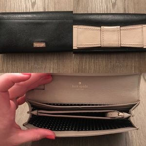 Authentic Kate Space clutch/wallet